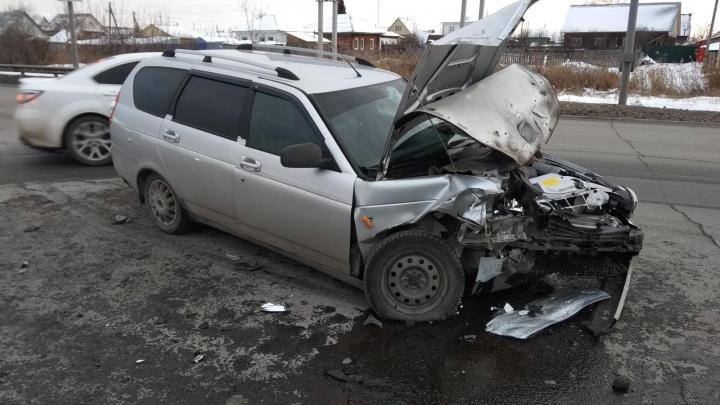 «Для города это редкость»: в Кургане за сутки в авариях пострадали 10 человек