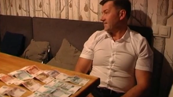 Появилось видео задержания Дмитрия Сазонова