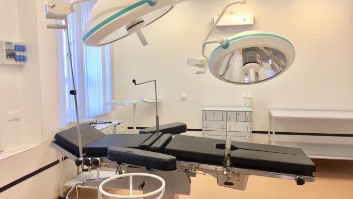 В новой поликлинике на левом берегу открыли отделение амбулаторной хирургии