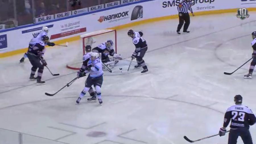 «Сибирь» проиграла «Металлургу» впервом матче под управлением Юрзинова
