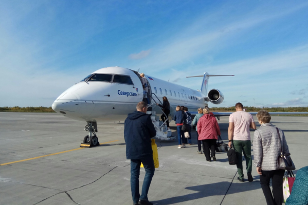 Самолётыне будут летатьиз Архангельска в Петрозаводск полтора месяца