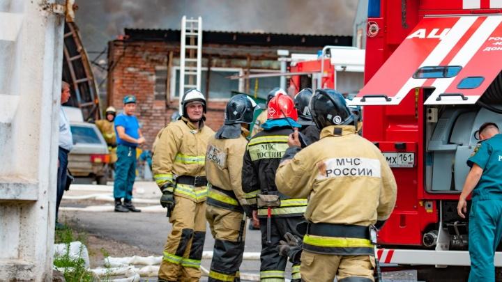 В Новочеркасске произошел пожар в девятиэтажке: пострадала пенсионерка