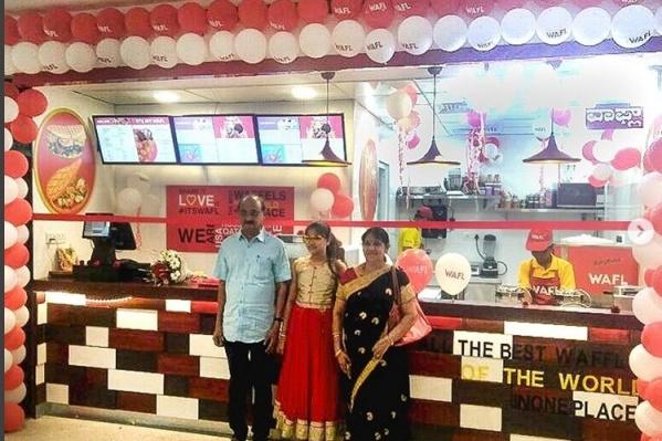 Открытие точки WAFL в Бангалоре
