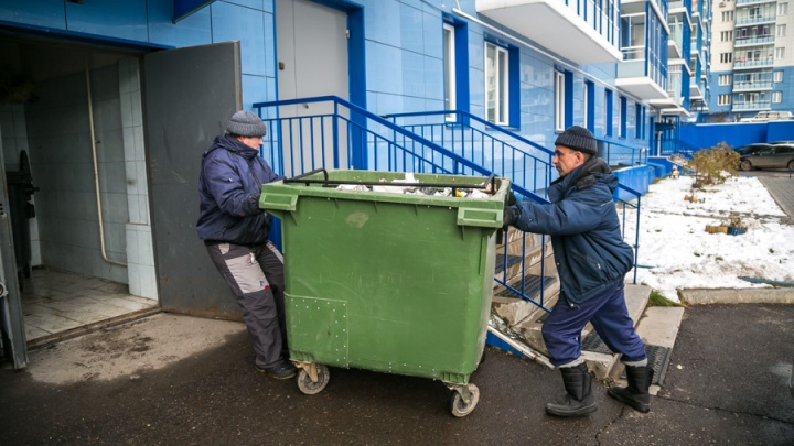 За вывоз мусора в январе красноярцы заплатят меньше