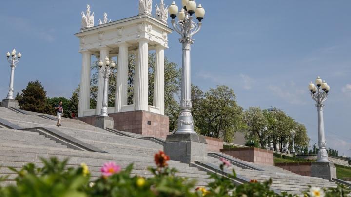 Как это было: смотрим фотоисторию реконструкции Центральной набережной Волгограда