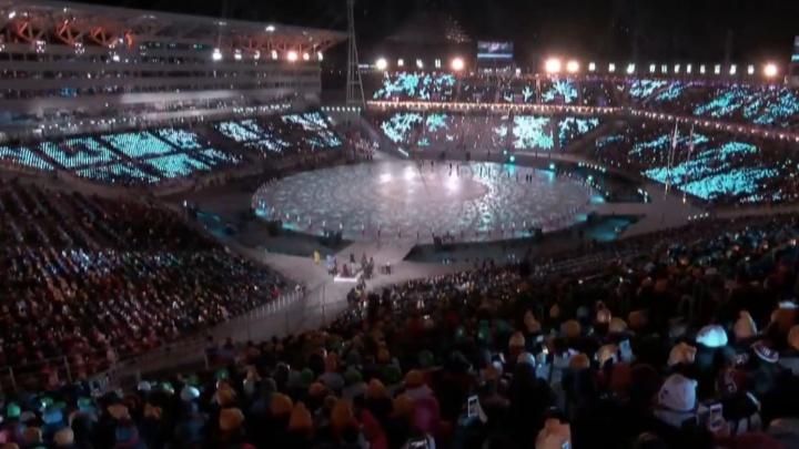 В Пхёнчхане началась торжественная церемония завершения Олимпиады — 2018