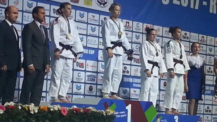 Спортсменка из Екатеринбурга завоевала Кубок Европы по дзюдо