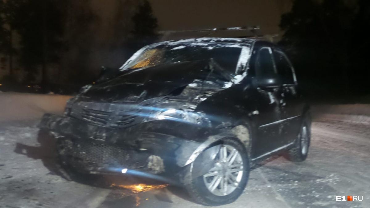Водитель Renault не пострадал