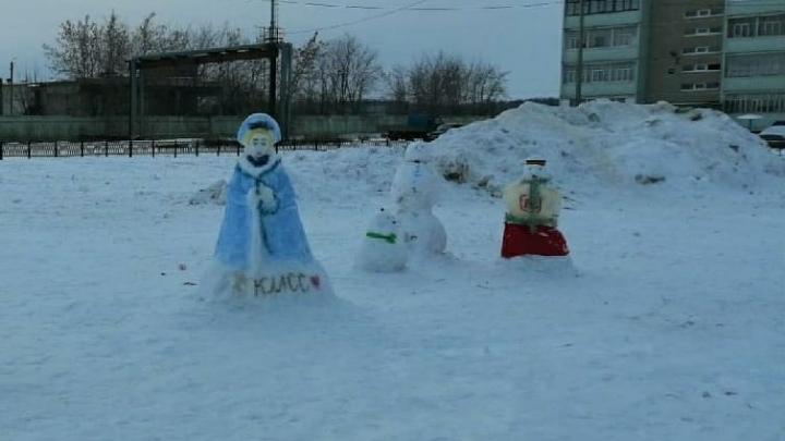 Украсили как могли: жители Башкирии просят власти нарядить сельскую площадь к Новому году