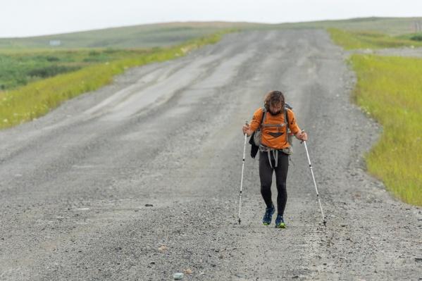Кирилл Фронюк прошёл2922 километра