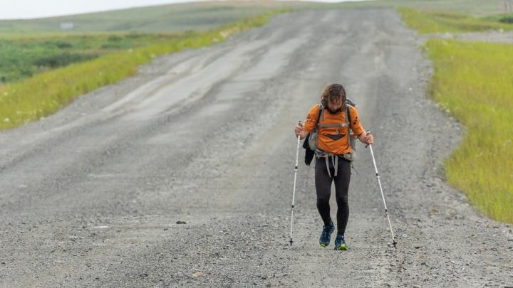 Житель Магнитогорска дошёл пешком до Северного Ледовитого океана, за что его уволили