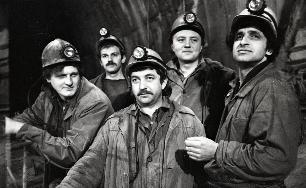 На строительстве свердловского метрополитена работали люди из братских республик СССР