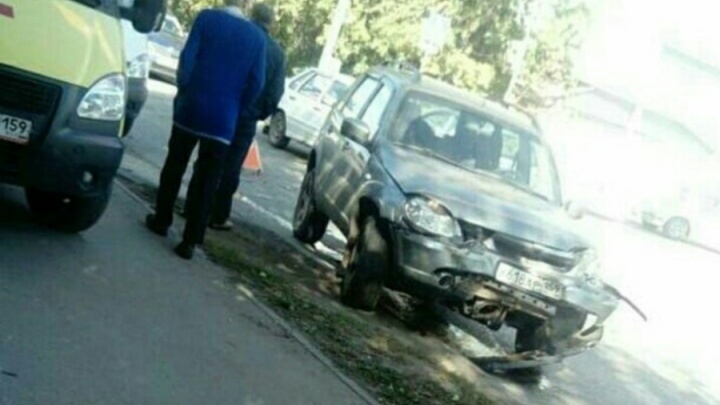 В Перми в массовом ДТП на улице Куйбышева пострадала женщина