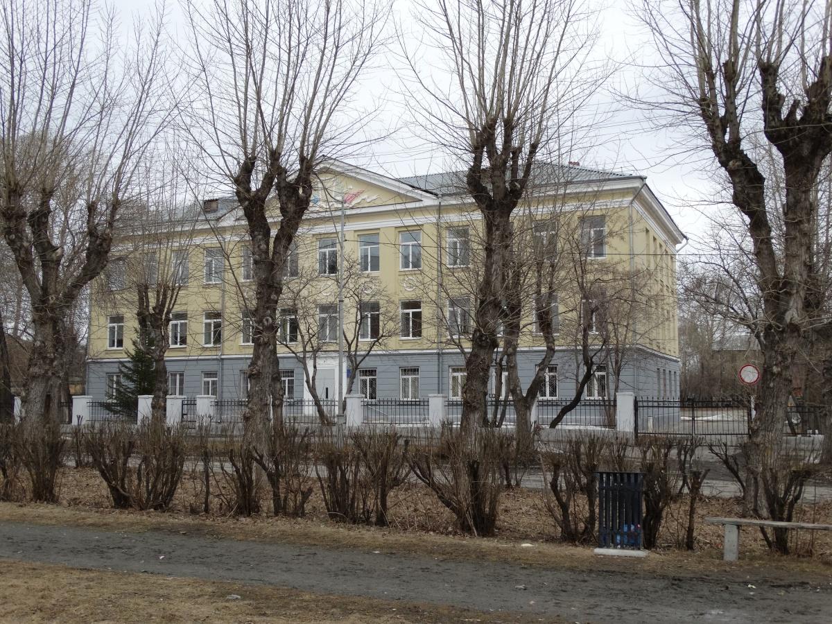 В настоящее время в этом здании располагается специальная коррекционная школа № 172