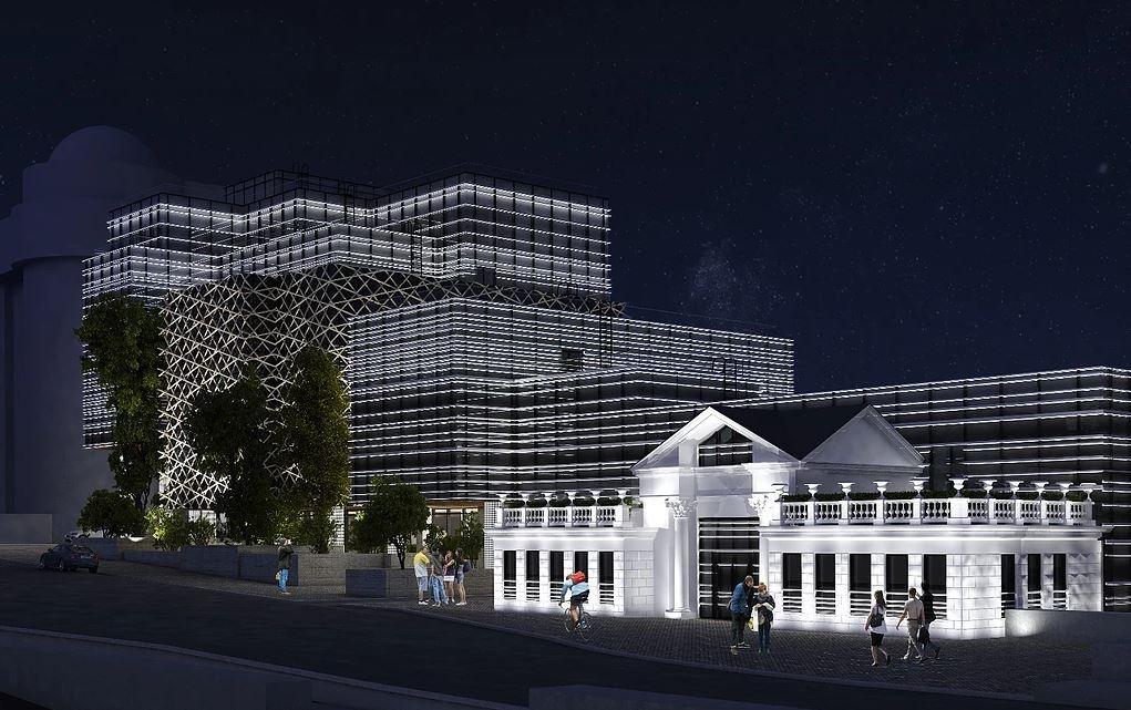 Проект офисного здания «Цветы» представили ещё в 2012 году