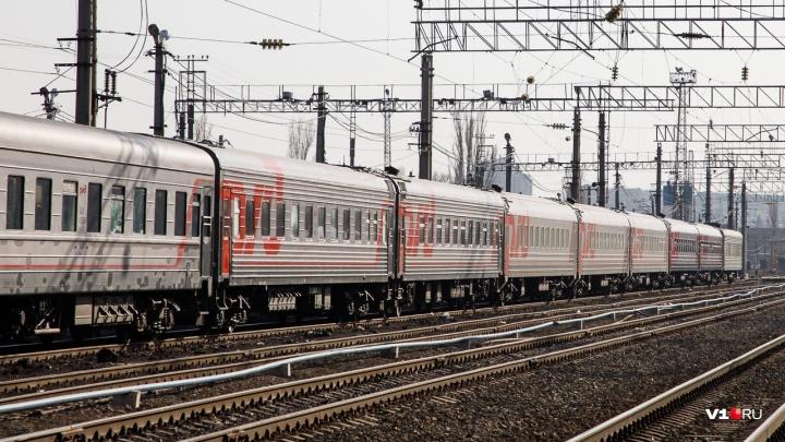 Поезд Астрахань — Волгоград опоздал из-за коровы
