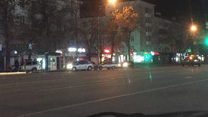 Ночная погоня в Уфе закончилась аварией