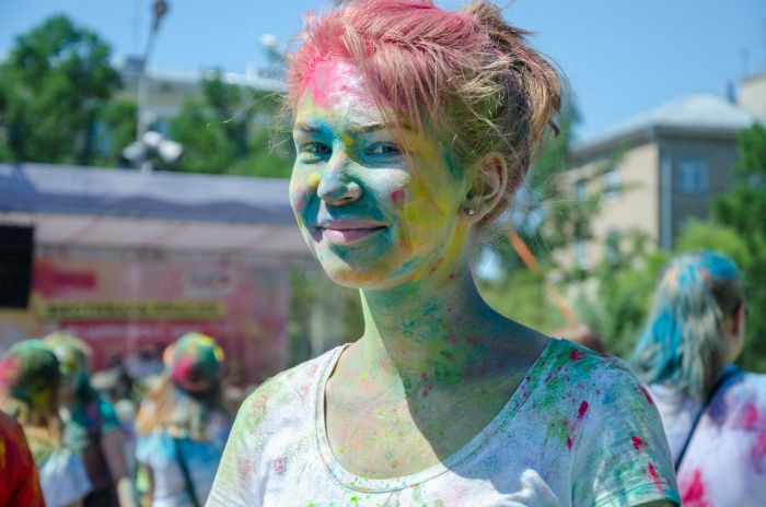 Фестиваль красок 17 июня