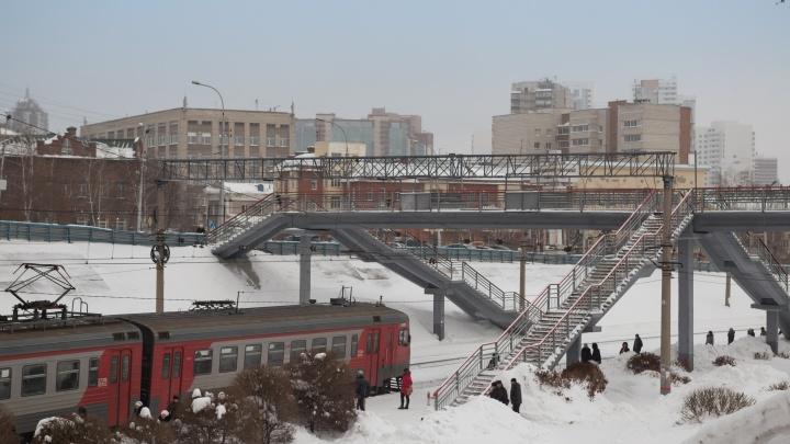 Новосибирские электрички изменят расписание из-за 8 Марта