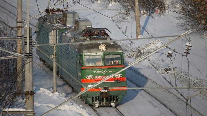 В Башкирии мужчину переехал поезд