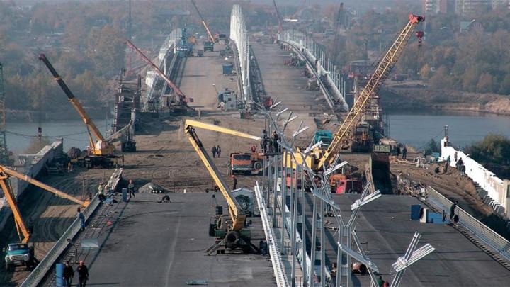 Три моста через Иртыш и «Страшный Кировск»: разглядываем старые снимки левобережья