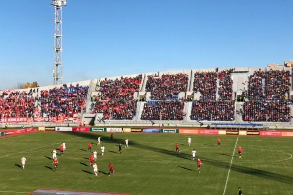 Матч со «Спартаком» в Красноярске прошёл 7 октября