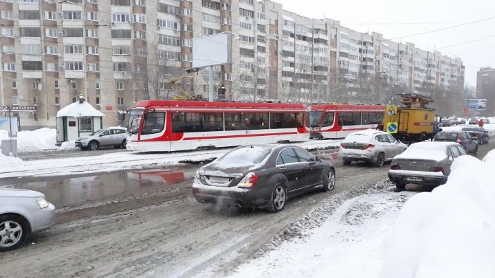 В Самаре восстановили движение общественного транспорта после коммунальной аварии