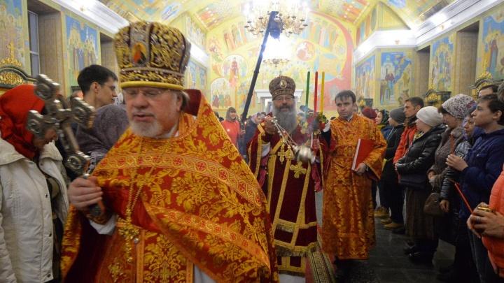 На Среднем Урале православные верующие встретили Пасху