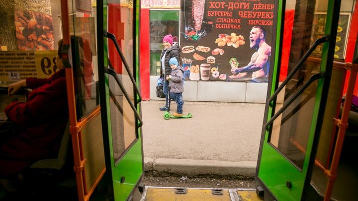 С 22 февраля проезд в автобусах Красноярска подорожает на 4 рубля