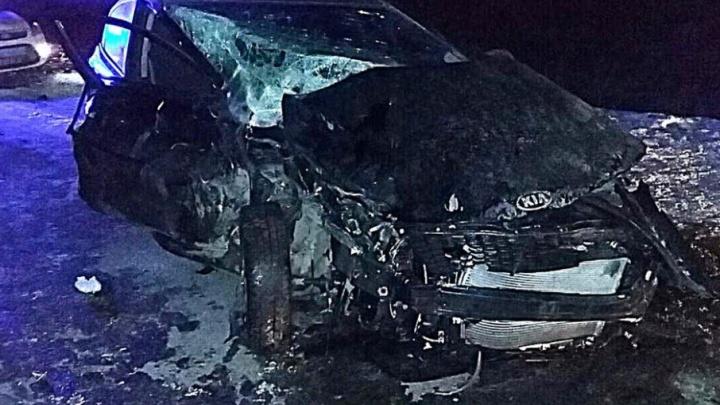 Авария в Башкирии: в столкновении KIA Rio и Nissan X-Trail пострадала женщина