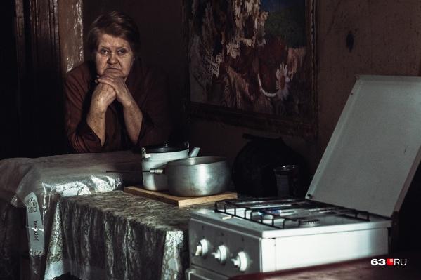Нина Петрова живет в доме на Красноармейской больше 70 лет