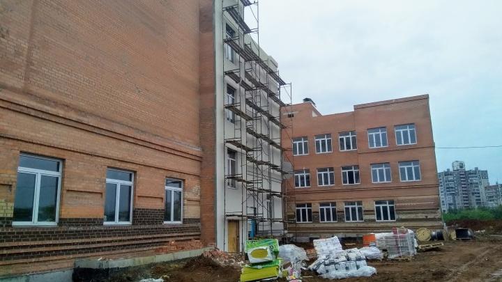 Новую школу на Северо-Западе Челябинска откроют раньше срока