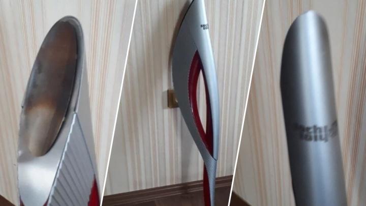За сколько сегодня можно купить факел Олимпийских игр в Сочи: новосибирец выставил один на «Авито»