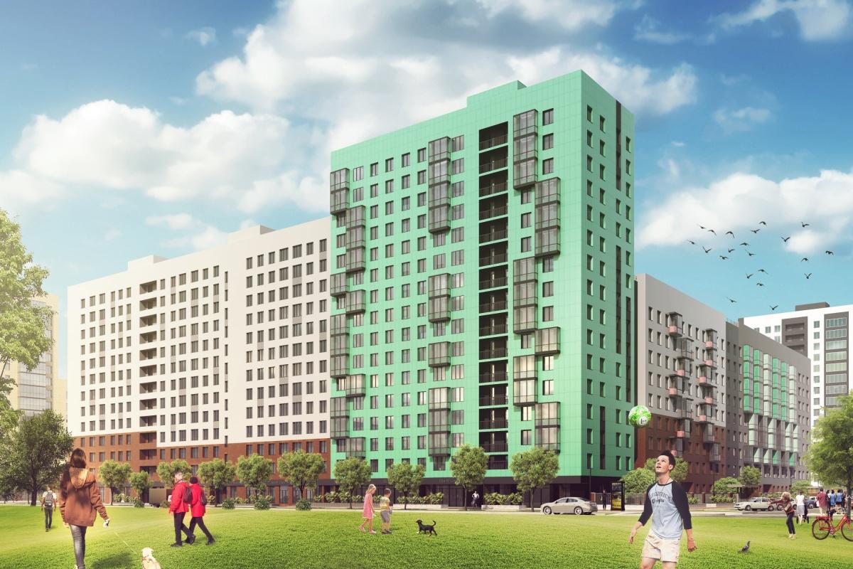 В квартале «Астра-Девелопмент» появится уровневая застройка с домами от 5 до 16 этажей