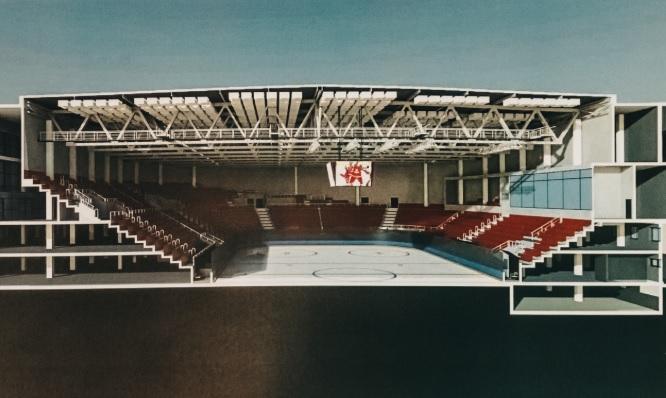 Начало строительства дворца спорта на Молодогвардейской перенесли на весну 2019 года