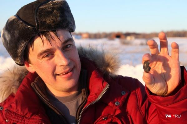 Виталий Губин был фотографом, но падение метеорита на несколько недель оторвало его от работы и семьи