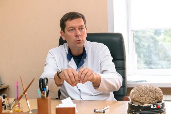 Олег Камадей начал делать уникальные операции на тройничном нерве первым в Самаре