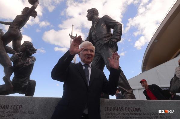 Николай Карполь увидел скульптурную композицию за два дня до торжественного открытия