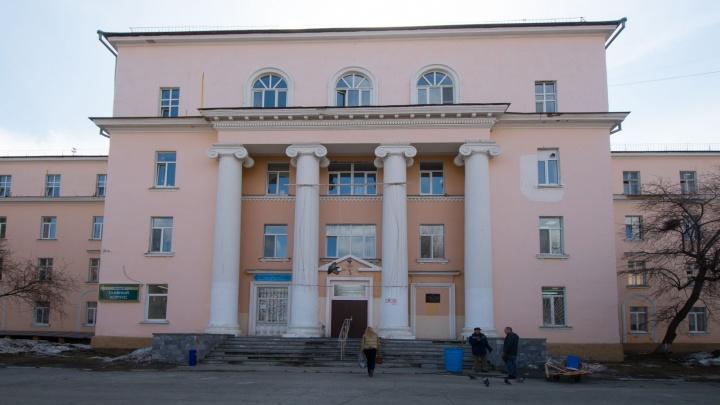 На Эльмаше отреставрируют здание 23-й больницы, построенное в духе советского неоклассицизма