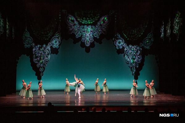 Премьера «Драгоценностей» откроет зрителям большой зал НОВАТа после реконструкции