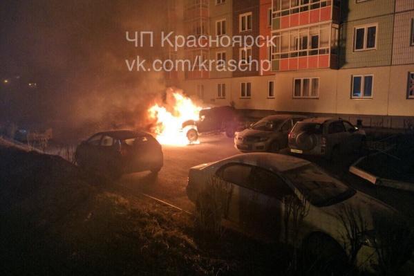 Пожар напугал жителей Чернышевского