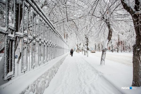Антициклон уходит — ему на смену в Новосибирскую область идут снегопады