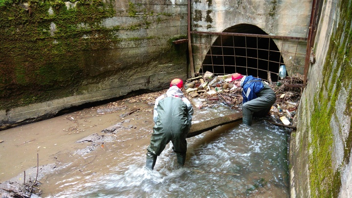Перми вернут реку: в историческом центре города высадился зеленый десант