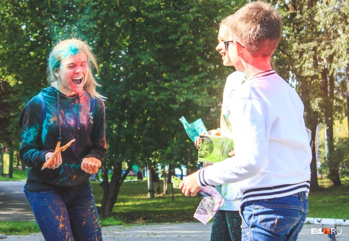 Участники фестиваля будут кидаться друг в друга краской