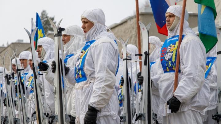 Пешком и на лыжах: через Волгоград пройдет лыжный переход десантников
