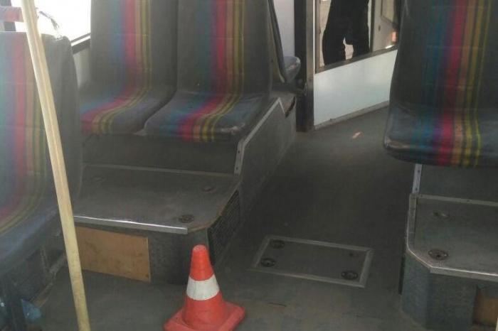 Салон автобуса  № 13