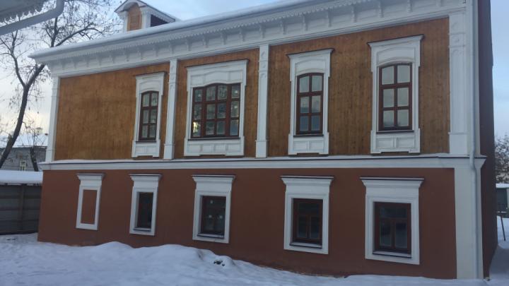 Воссоздали по фотографиям: в Уфе отреставрировали усадьбы братьев Соловьевых