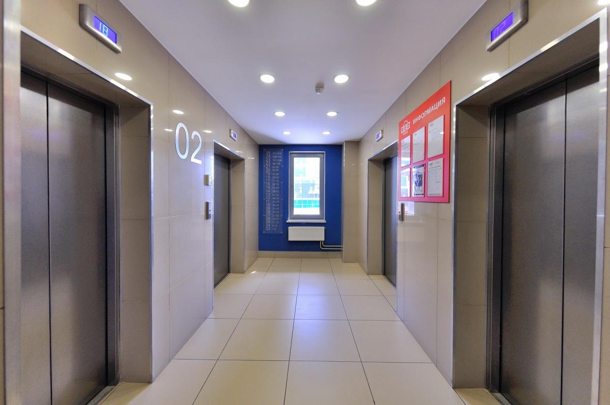 В новых домах в лифтах даже играет музыка