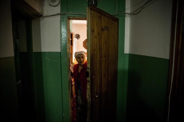 78-летнюю сибирячку Галину Астафьеву хотели выселить из общежития 18 октября