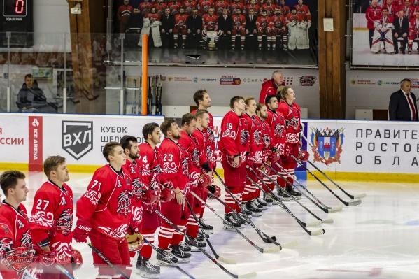 Ростовчане занимают 31-е место в турнирной таблице ВХЛ